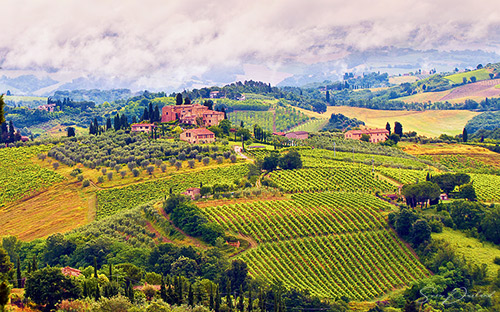 Tuscany art prints